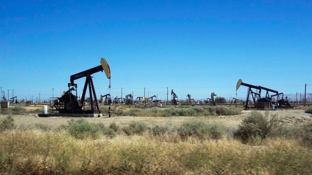 Oil pump in Permian Basin
